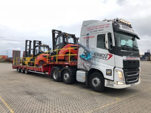 Another load of trucks going on hire